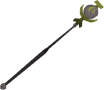 Cosmic talisman staff detail