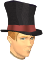 Top hat chathead