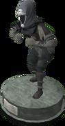 Wildstalker helmet (tier 2) statue