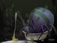 Thumb Spider in a Bathtub