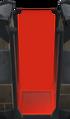 Tall red door