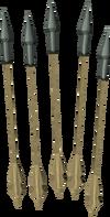 Kratonite arrows detail