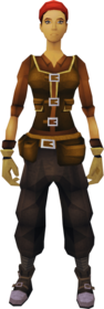 Artisan's outfit equipped