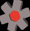 Red cog detail