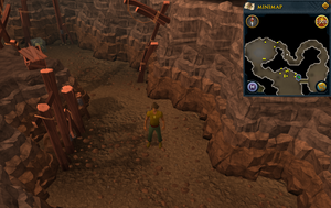 Scan clue Fremennik Slayer Dungeon in passage between basilisk and jelly chambers