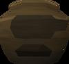 Fragile smelting urn (nr) detail