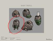 Baby Troll concept art