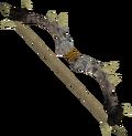 Dark bow (white) detail