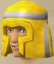 Gold helmet chathead