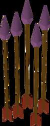 Basiliskbane arrow detail