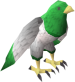 Guthix bird pet
