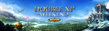 Double XP Weekend head banner 3