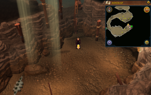 Scan clue Fremennik Slayer Dungeon near entrance