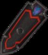 Black shield (h2) detail