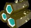 Magic pyre logs detail