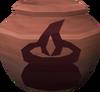 Fragile cooking urn (r) detail