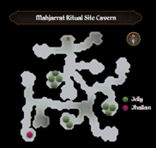 Mahjarrat Ritual Site Cavern map