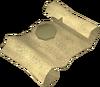 Mummy Champion's scroll detail