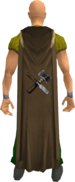 Crafting cape equipped