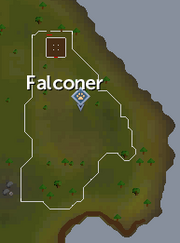 Piscatoris falconry area map