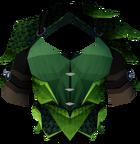 Green dragonhide body detail