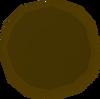 Pie dish (unfired) detail