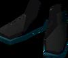 Mourner boots detail