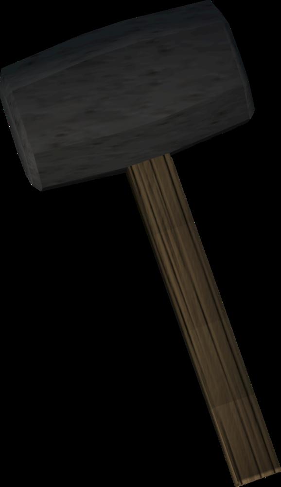 Stake hammer detail