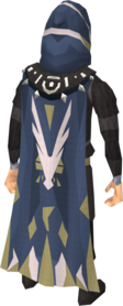 Veteran cape equipped