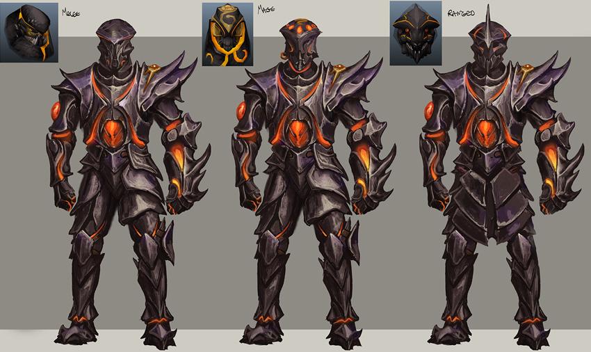 image obsidian armour concept artjpg runescape wiki