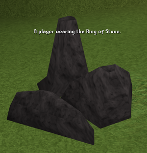 Ring of stone old