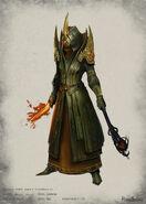 Celestial armour concept