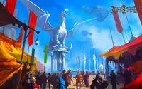 Clan Citadel Welcome Area wallpaper