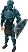 Rune armour set (t) equipped