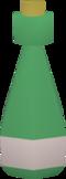 Green vial detail