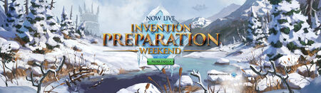Invention Preparation Winter Weekend head banner