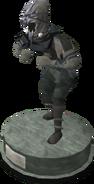 Wildstalker helmet (tier 6) statue