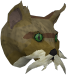 Wily cat (brown) chathead