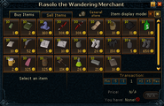 Rasolo the Wandering Merchant stock