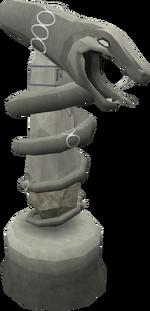 Fine Guthix statue