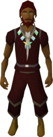Arcane stream necklace equipped