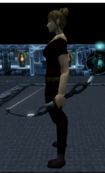 Corpsethorn shortbow equipped