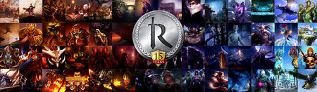 15 Year Anniversary head banner