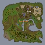 Ape Atoll map