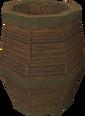 Keg of beer detail