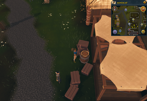 Simple clue Barrel in Burthorpe