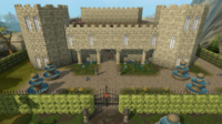 Camelot Castle entrance