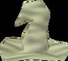 Cream hat detail