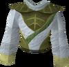 Third-age druidic robe top detail