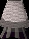 White elegant skirt detail